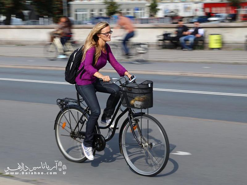 دوچرخه را به وسیله نقلیه خود تبدیل کنید.