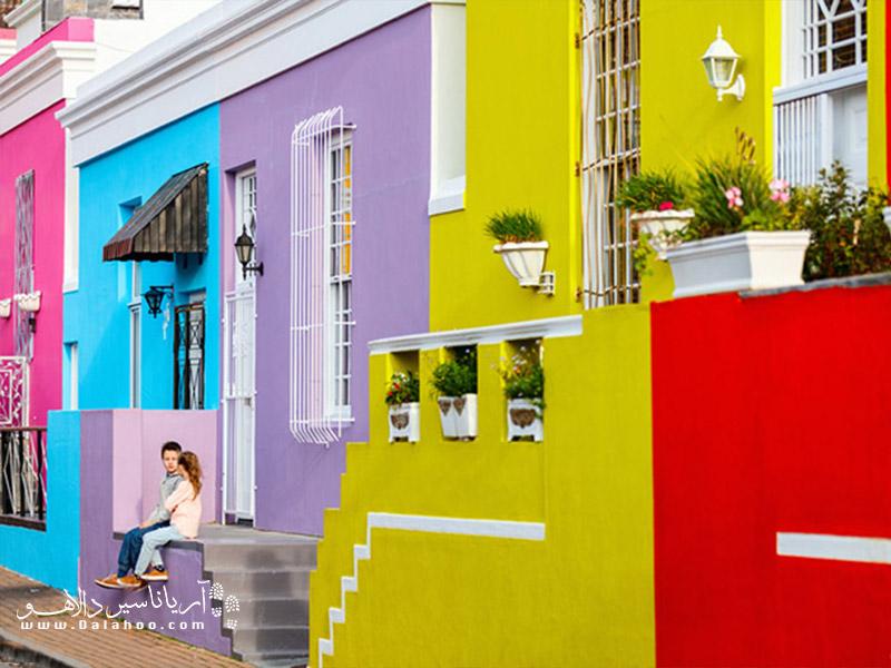 محله بوکاپ در دامنههای تپه سیگنال (Signal Hill) در بالای شهر کیپ تاون یکی از قدیمی ترین و زیباترین مناطق مسکونی آفریقای جنوبی است.