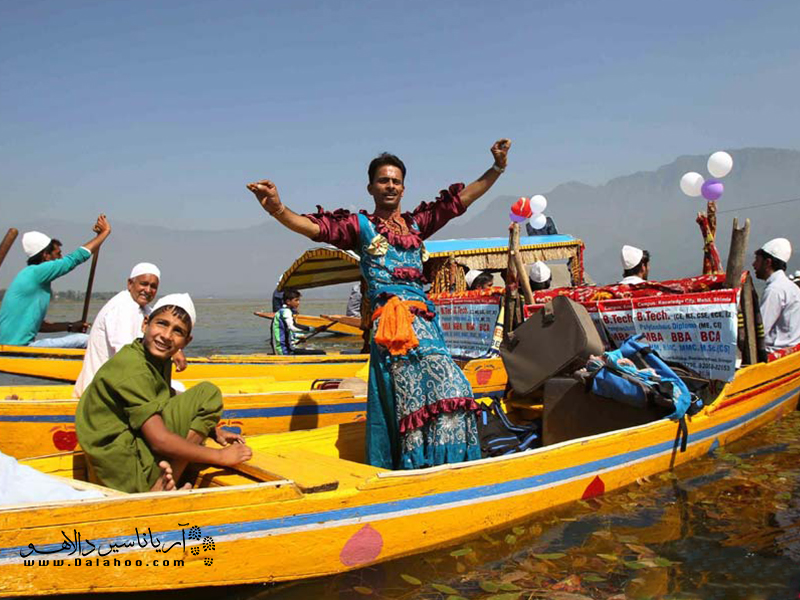 شیکاراها  در طول فستیوال به زیبایی تزیین میشوند.
