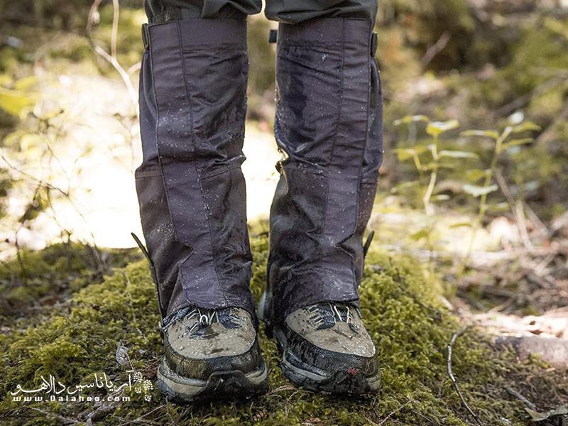 برای اجتناب از سرمازدگی پاها انتخاب درست گتر اهمیت بسزایی دارد.