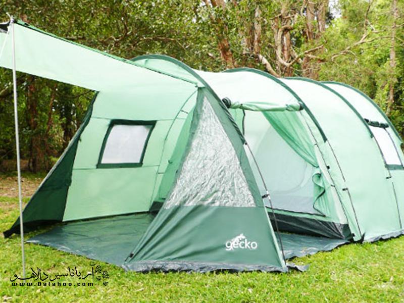 برای انتخاب چادر به میزان فضای داخلی چادرها توجه کنید.