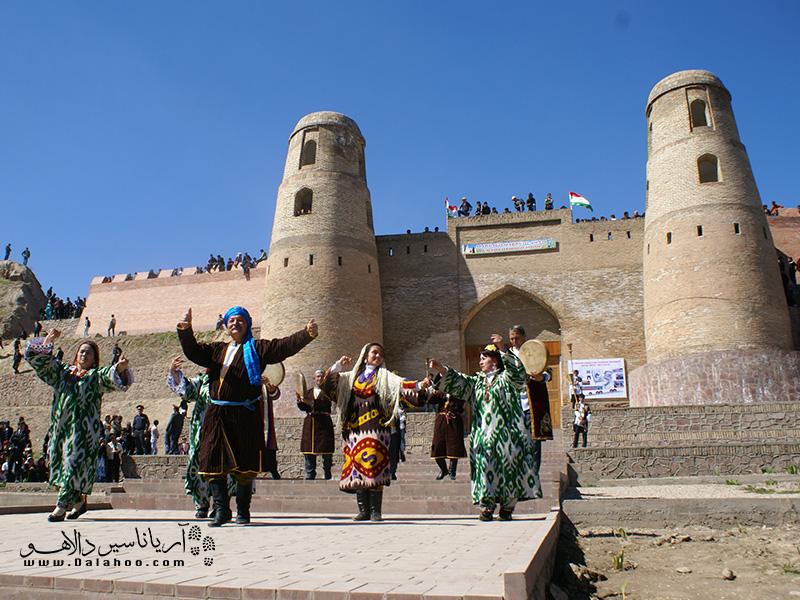 قلعه حصار نماد فرهنگ باستانی حدود 3 هزارساله مردم تاجیک است