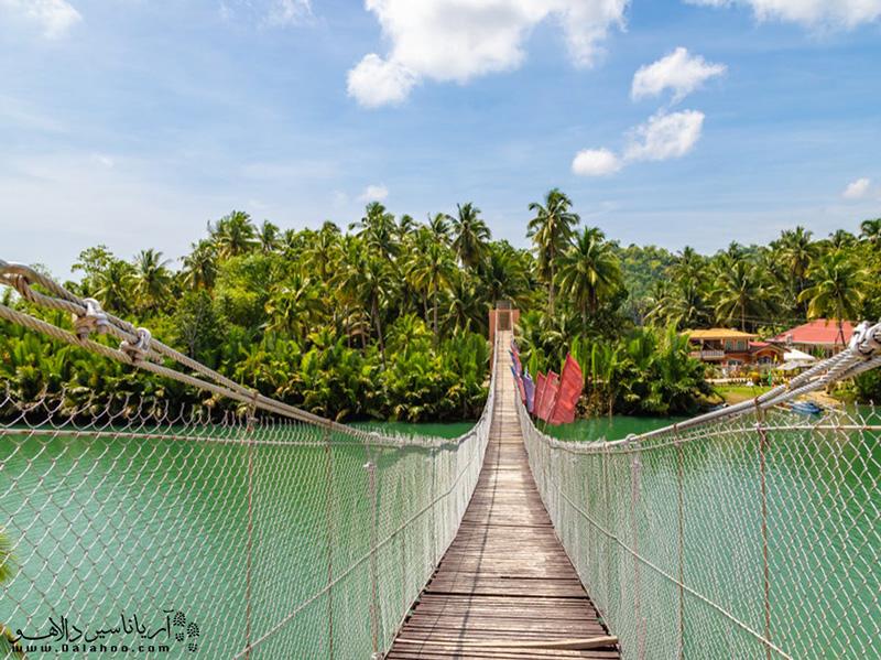 برای تجربه هیجان راه رفتن روی این پل معلق، نیاز به دریافت ویزای فیلیپین دارید.