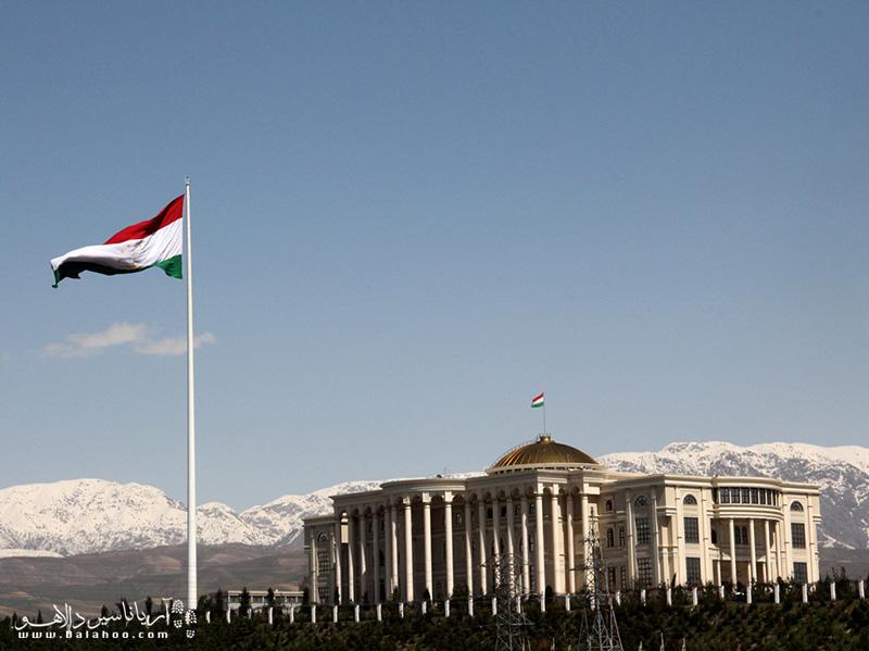 پایتخت کشور تاجیکستان، دوشنبه ال 80 سال پیش دهکده کوچکی بود