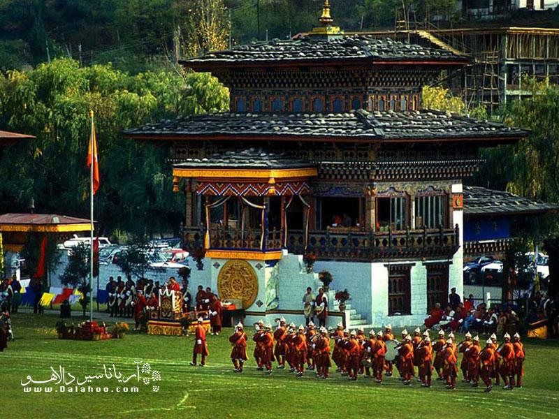 بوتان بهتدریج تحت تأثیر افکار بودائی قرار گرفت.