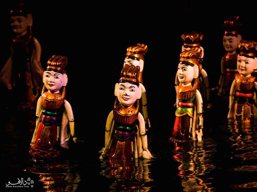 تئاتر عروسکی آبی هانوی
