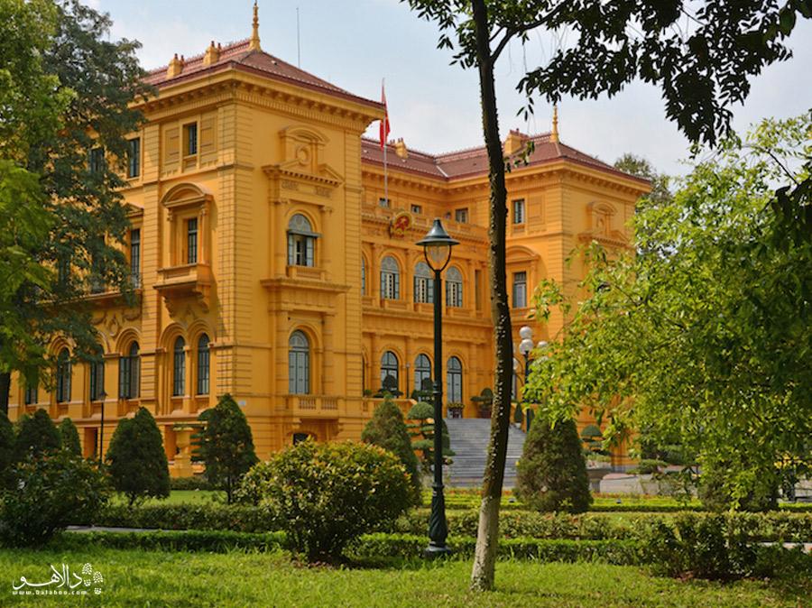 کاخ ریاست جمهوری شهر هانوی