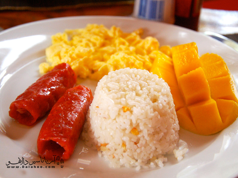 مانگو پای ثابت میز صبحانه فیلیپینیهاست.