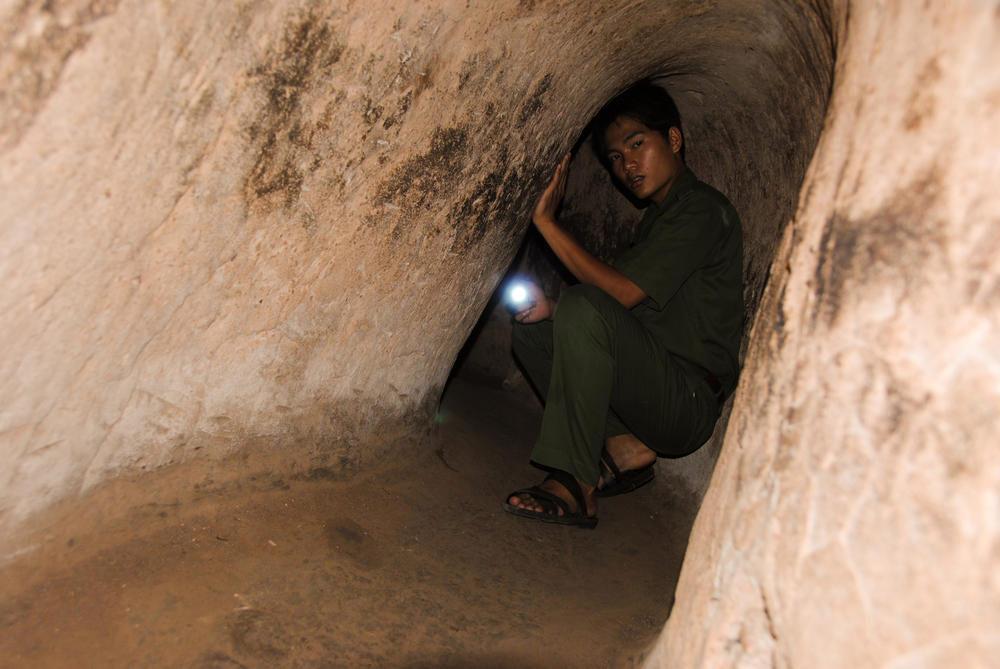 تونل زیرزمینی کو چی Cu Chi tunnels