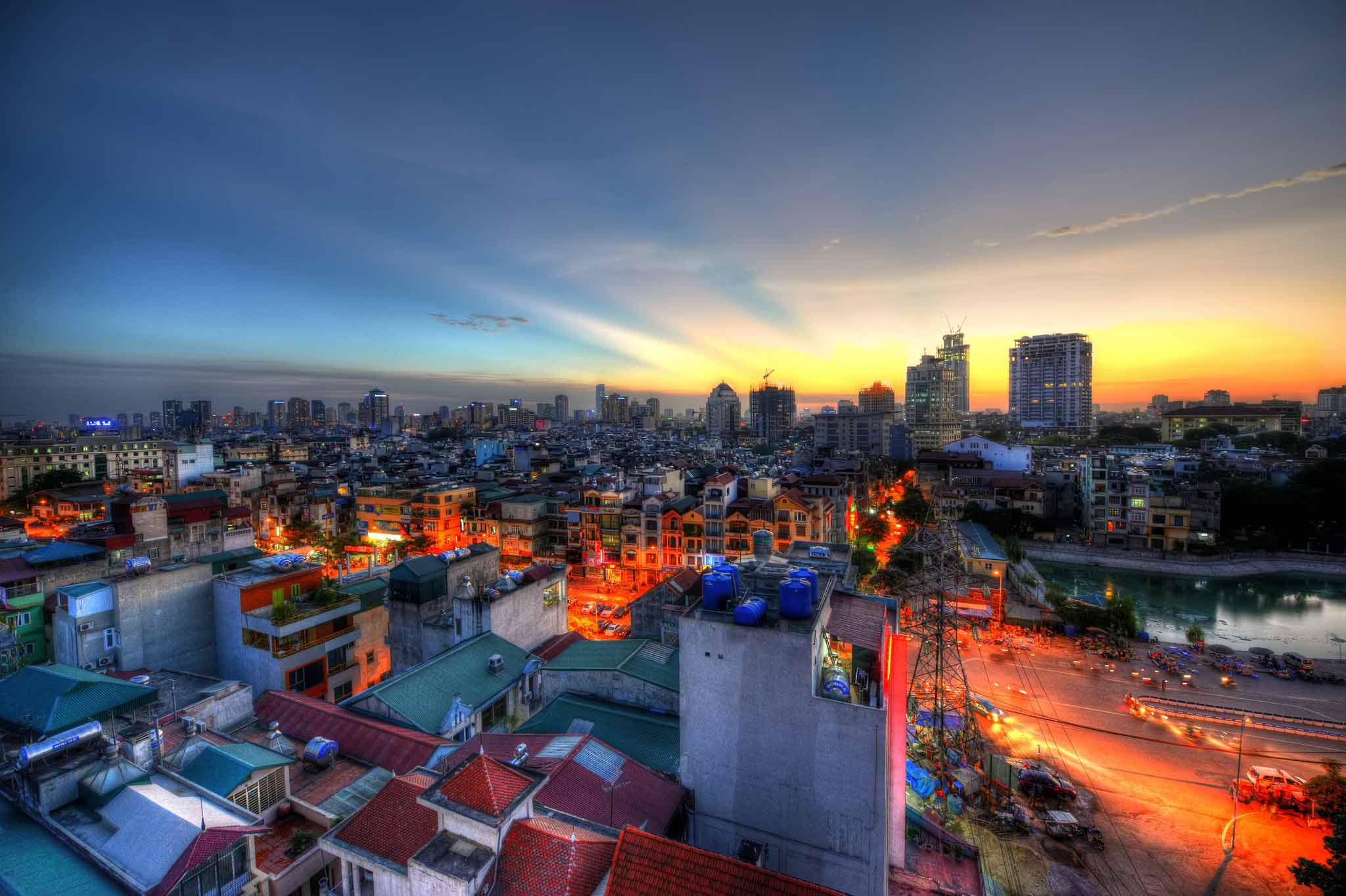 شهر هانوی hanoi