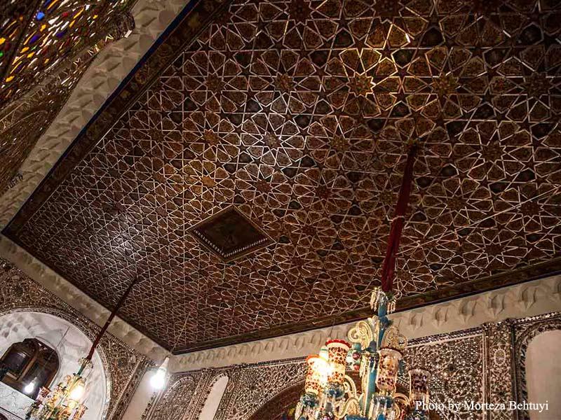 سقف حسینیه امینیها
