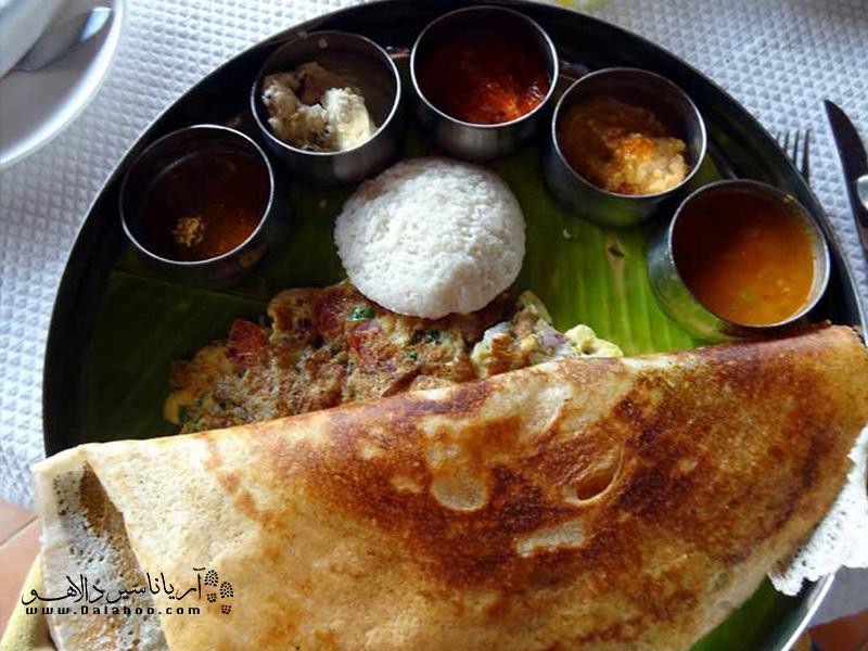 صبحانه هندیها همراه با ترشی!