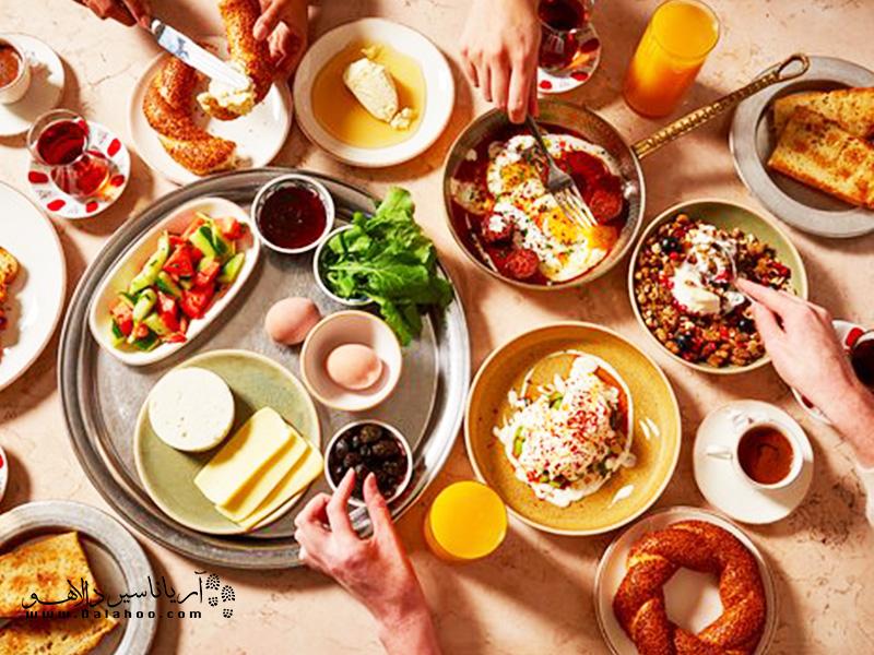 صبحانه محبوب ترکیهای بسیار به ما نزدیک است.