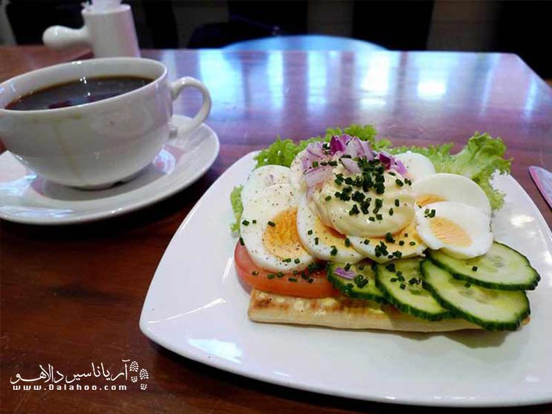 صبحانه سوئدیها نیز بسیار به ذائقه ما نزدیک است.