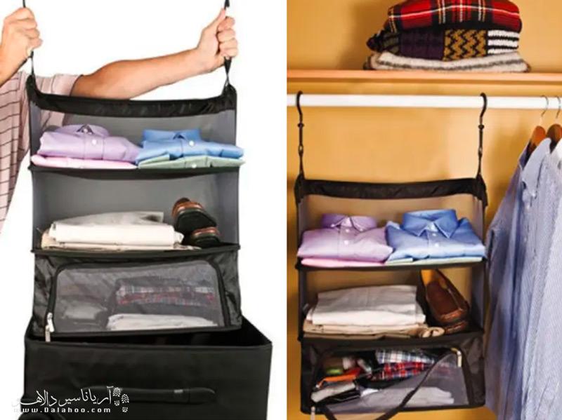 با استفاده از قفسههای مخصوص بستهبندی، کار را برای خودتان بسیار راحت کنید.
