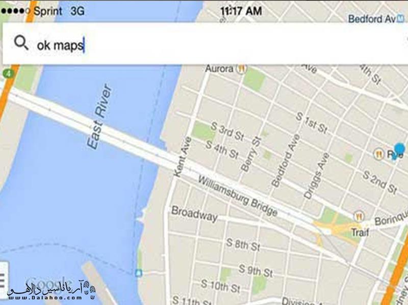 از Ok map در سفرتان استفاده کنید.