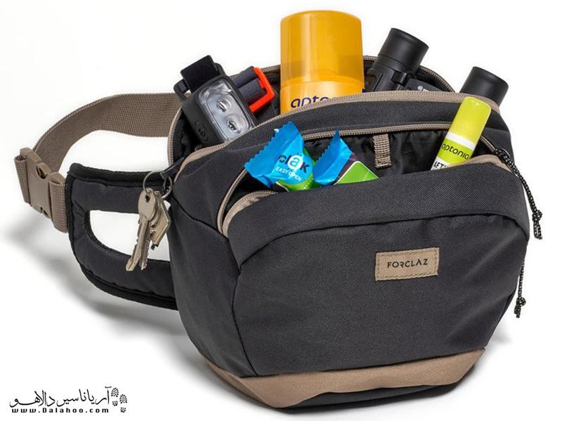 کیف کمری بهترنی وسیله برای حمل وسایل بهداشتیتان در طول سفر است.