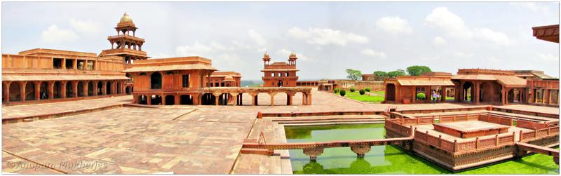مجموعه فاتح پور سیکری Fatehpur Sikri