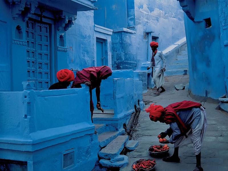 نمایی از زندگی روزمره مردم در هند