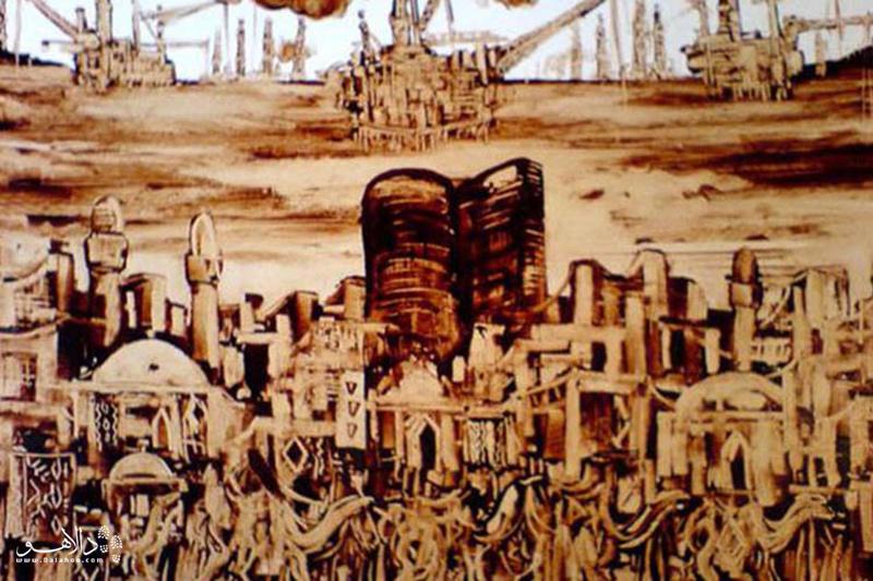 نقاشی نفتی