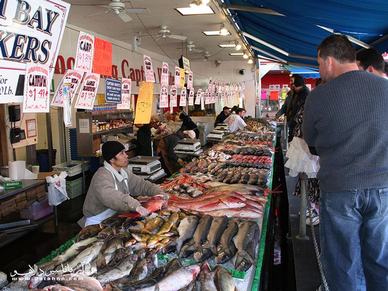 نمایشگاهی از غذاهای دریایی و صنعت شیلات در آذربایجان.