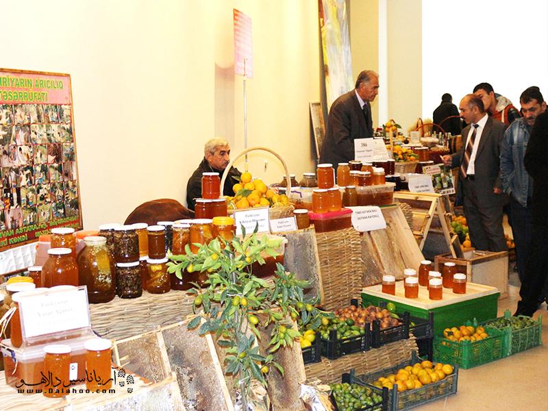 فستیوالی برای برای نمایش نقش آذربایجان در بازار جهانی غذا.