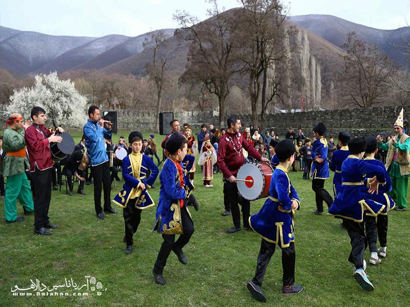 جشن نوروز، بزرگترین جشن آذربایجان.