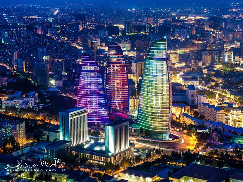 باکو مقصدی دلپذیر برای تفریح و خوشگذرانی است.