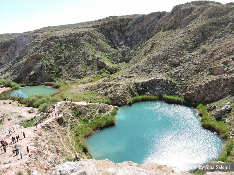 دریاچه دو قلو سیاه گاو