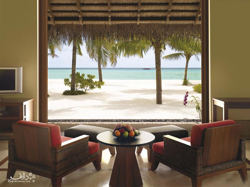 استراحت در رزورتهای مالدیو