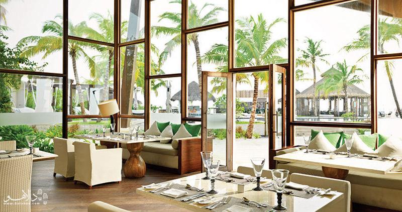 فضای داخلی یکی از هتلها در مالدیو
