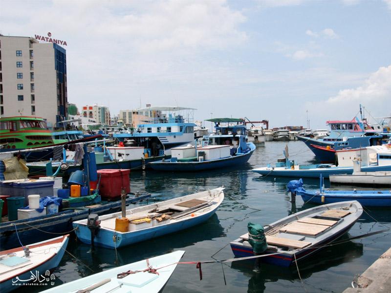 قایقهای تندرو در مالدیو