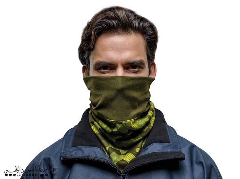استفاده از دستمال گردن به گرم کردن بدنتان کمک میکند.
