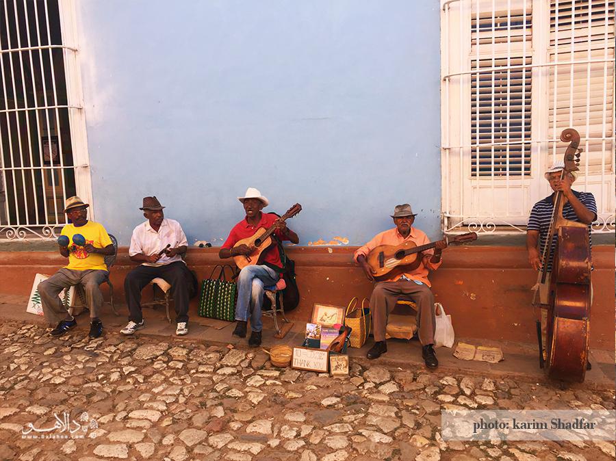موسیقی زنده در خیابانهای ترینیداد