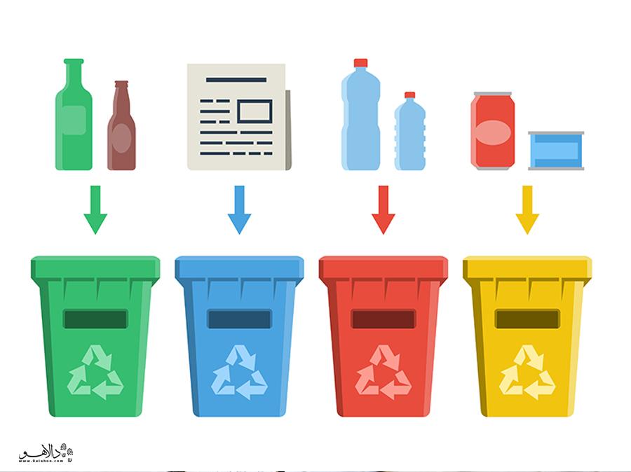 تفکیک زباله ها