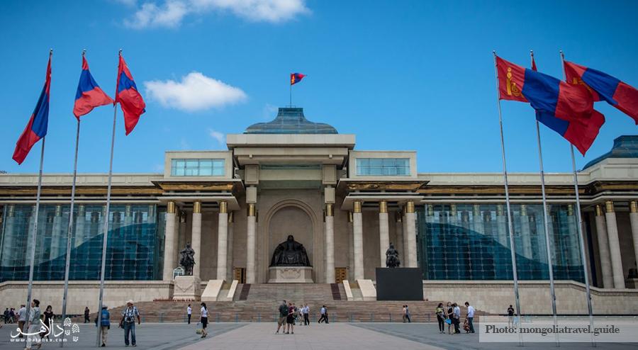 ساختمان پارلمان مغولستان