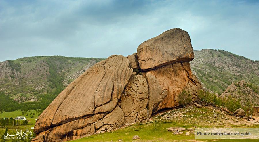 صخره لاک پشتی