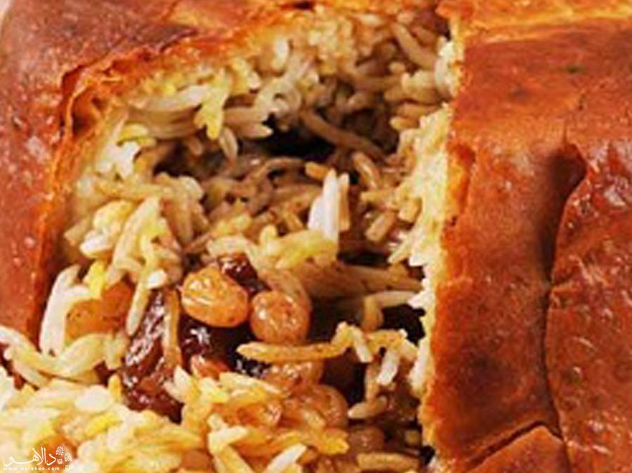 شاهپلو، غذایی شبیه تهچین