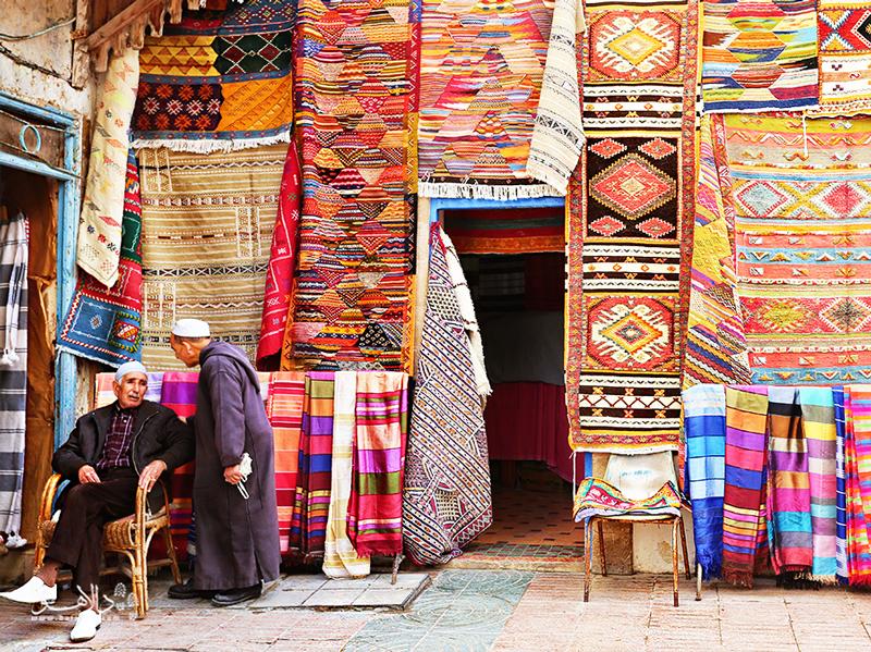 خرید صنایع دستی در بازارهای مراکش و آشنایی با فرهنگ مراکشی در فستیوال موسیقی