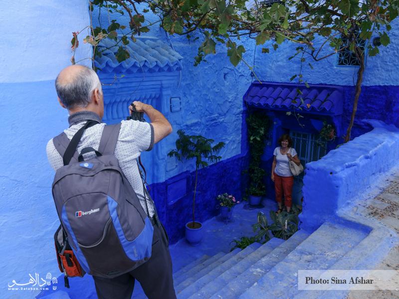 یکی از همسفران خوبمان، بهترین لوکیشن را در شفشاوون پیدا کردند و مشغول عکاسی هستند.