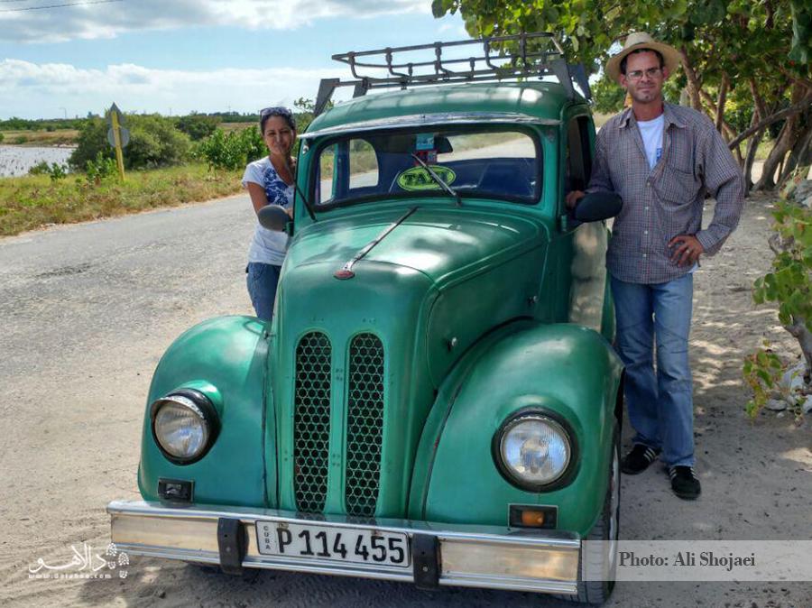 ماشینهای کلاسیک دهه 40 و 50 میلادی در جادههای کوبا