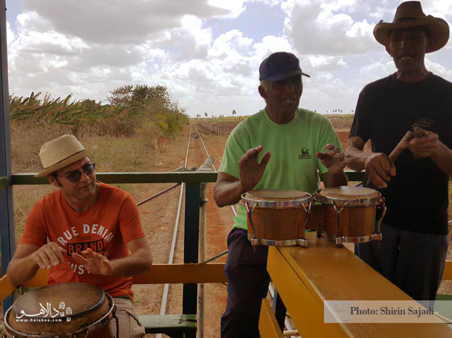 وقت موزیک است. کمی دورهمی با موزیسینهای کوبایی، درام بزنیم.