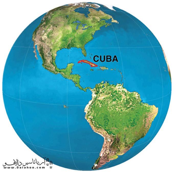 کوبا، جزیرهای دردریای کارائیب