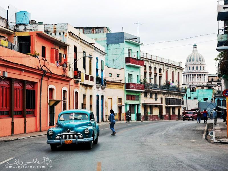 اتومبیلهای کوبا یکی از جاذبههای دیدنی این کشورند.