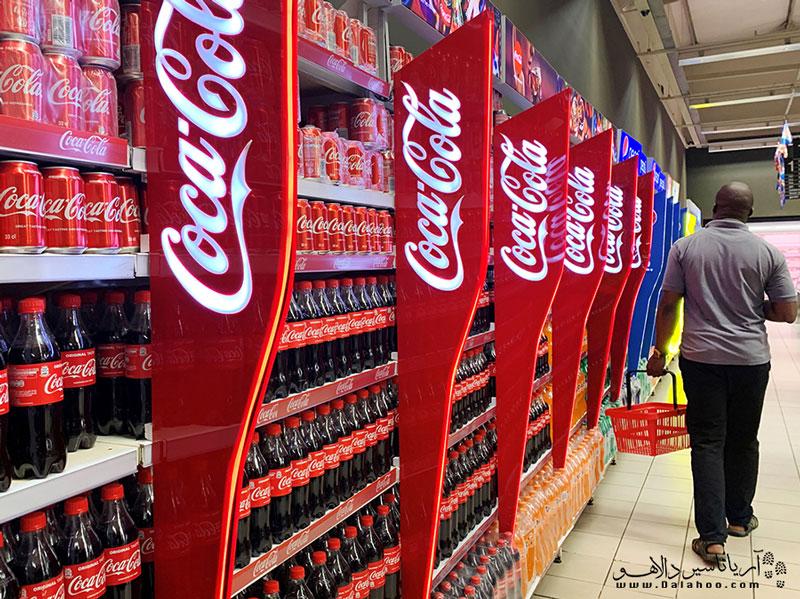 در مغازهها سراغ کوکاکولا را نگیرید.