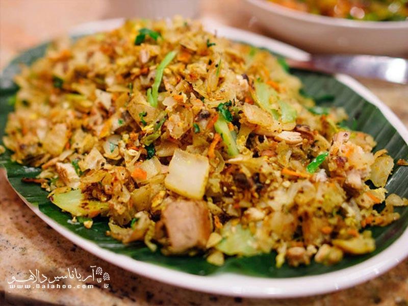 کوتو نوعی همبرگر سریلانکایی به حساب میآید و بسیار محبوب است.