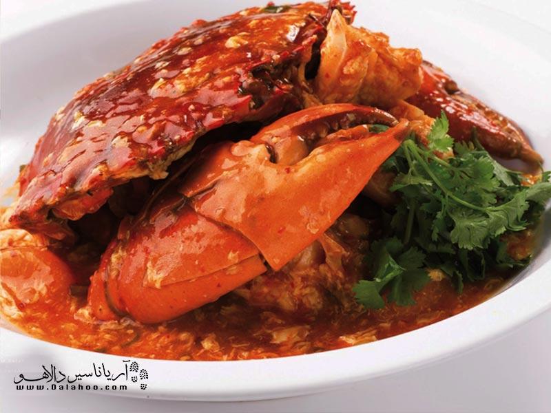 خرچنگ پخته سریلانکایی طرفدار خاصی در تمام دنیا دارد. علتش طعم شیرین و کم نظیر این خرچنگ است.