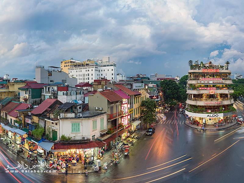 هانوی به سرعت پیشرفت میکند. شهری که معماری سنتی و اروپایی را میتوانید در همه جایش ببینید.