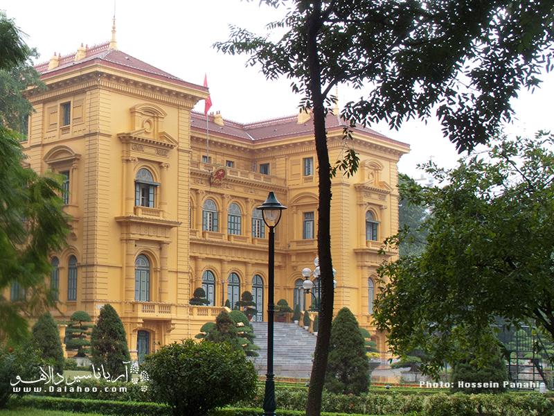 کاخ ریاست جمهوری هانوی از آنجایی که مقر دولت است برای بازدید عموم باز نیست.