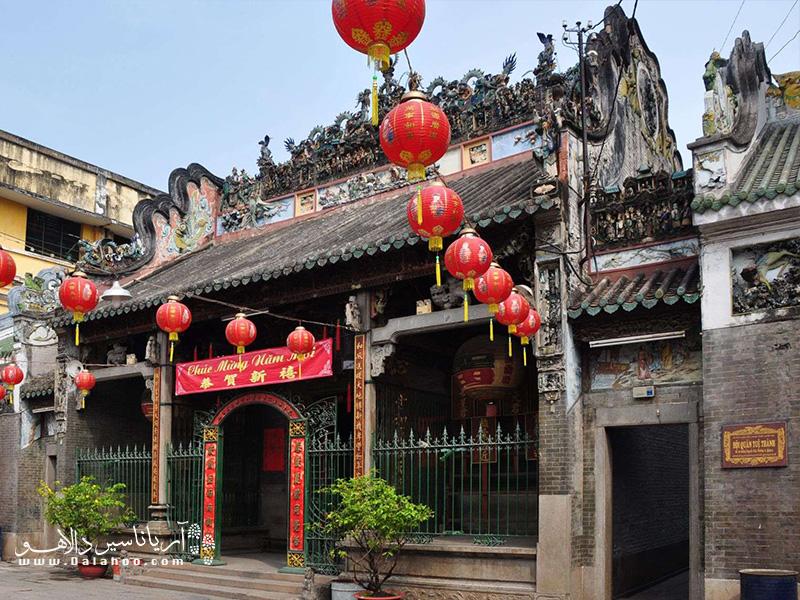 معبد تین هوآ در محلهی چینیها اهمیت زیادی دارد.